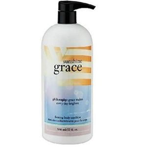 Philosophy Sunshine Grace firming body lotion